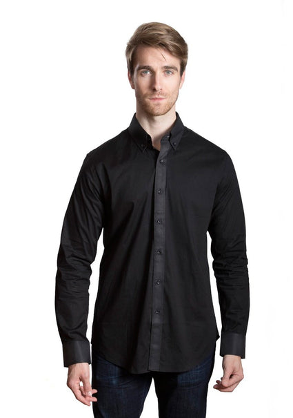 EMMANUEL Woven Dress Shirt