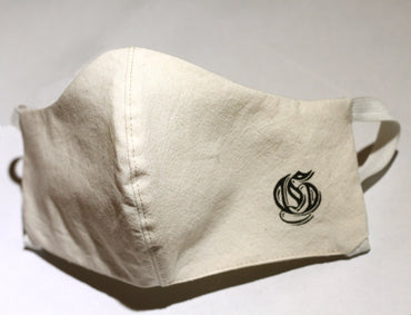 G Logo Cotton Muslin 2 ply mask