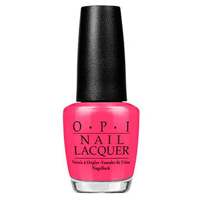 OPI Nail Lacquer Charged Up Cherry, Esmalte de uñas