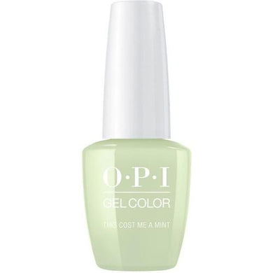 OPI Gel Color 360 ThInfinite Shine Cost Me A Mint, Esmalte gel de uñas