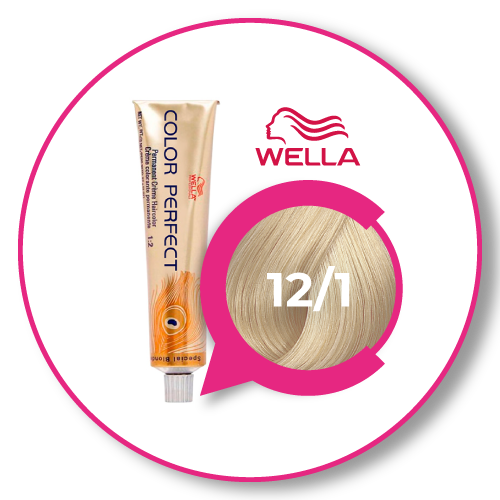 Wella Color perfect Special Blonde 12/1 Rubio Especial Ceniza 60 ml