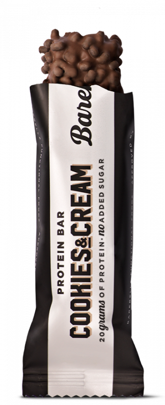 BAREBELLS COOKIES & CREAM PROTEIN BAR