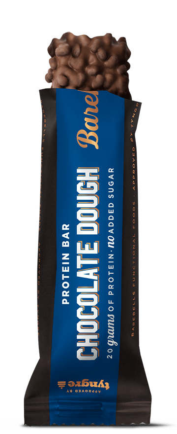 BAREBELLS CHOCOLATE DOUGH PROTEIN BAR