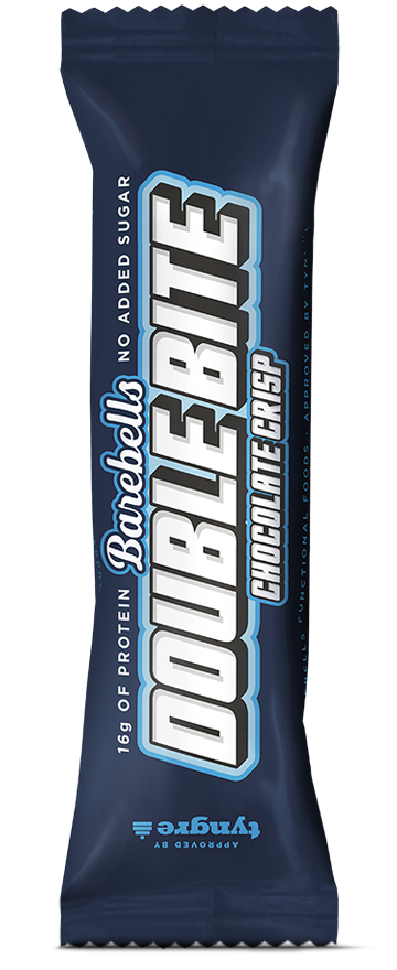 Barebells Protein Bar Double Bite Chocolate Crisp 55g