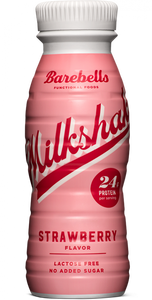 BAREBELLS PROTEIN MILKSHAKE STRAWBERRY