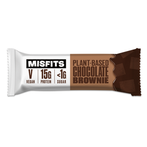 Misfits Plant-Based Bar Chocolate Brownie Vegan