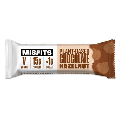 Misfits Plant-Based Bar Chocolate Hazelnut Vegan