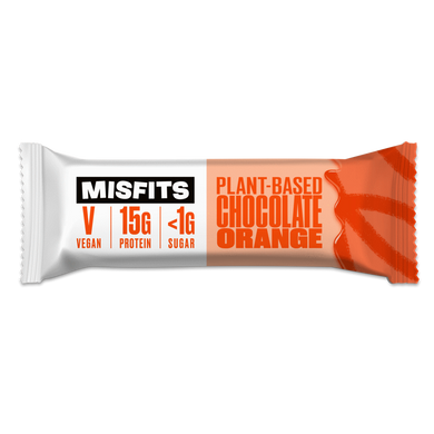 Misfits Plant-Based Bar Chocolate Orange Vegan
