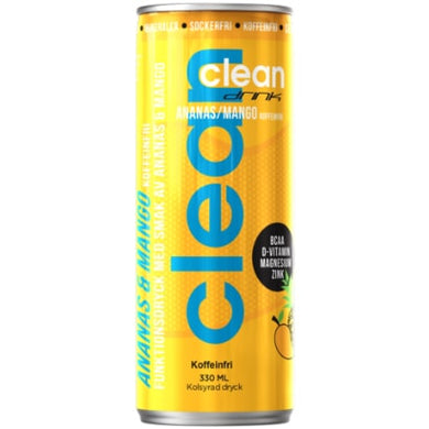 CLEAN DRINK ANANAS/MANGO ZONDER CAFEÏNE