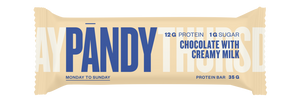 Pandy Protein Bar Chocolate with Creamy Milk