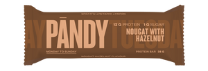 Pandy Protein Bar Nougat with Hazelnut