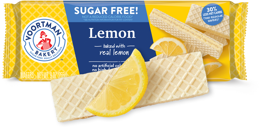VOORTMAN LEMON WAFERS
