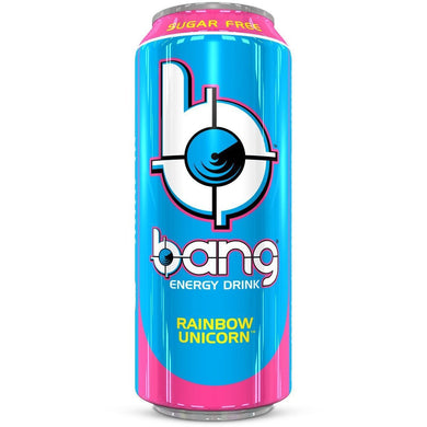 bang energy rainbow unicorn suikervrij