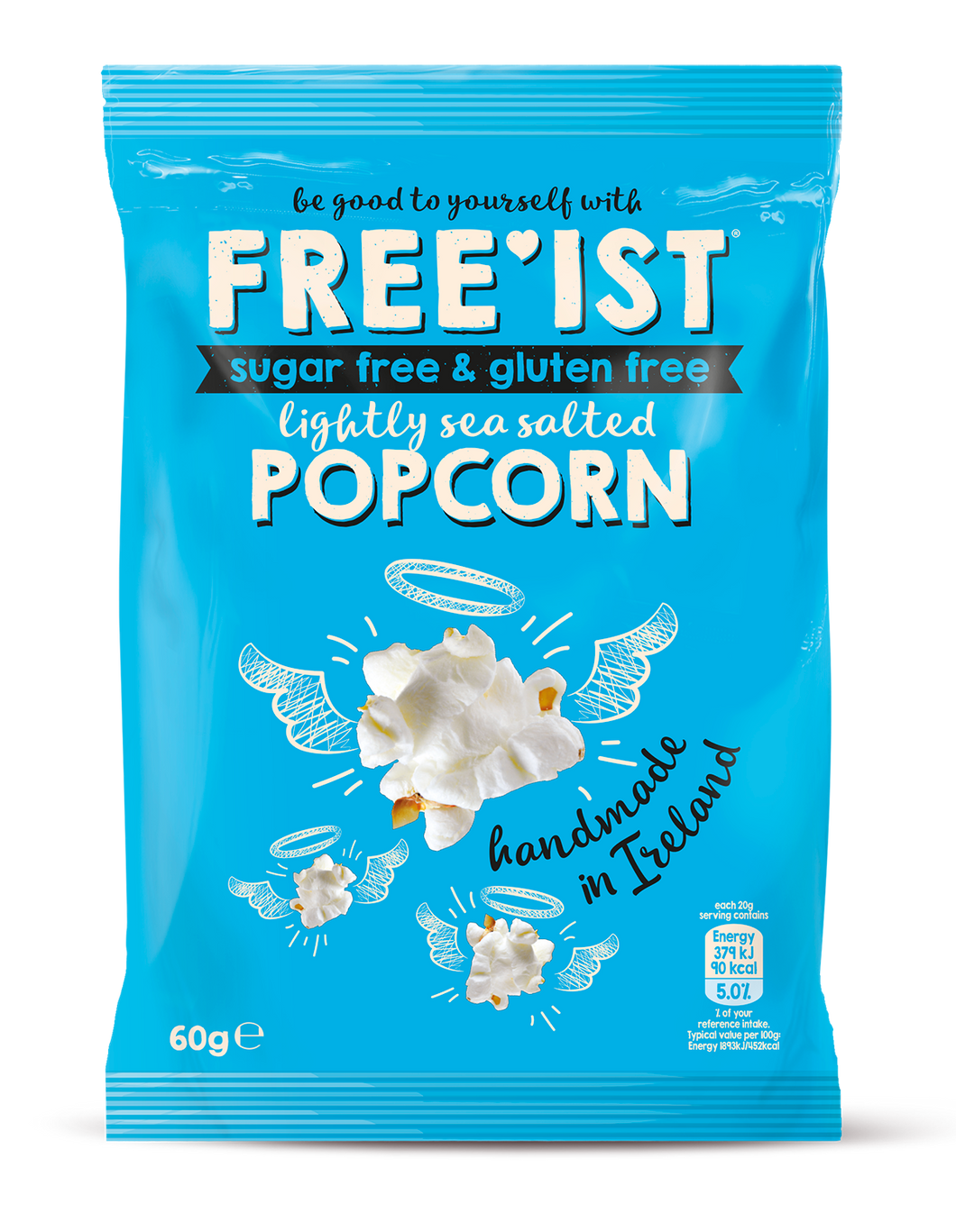 FREE'IST POPCORN LIGHTLY SEA SALTED