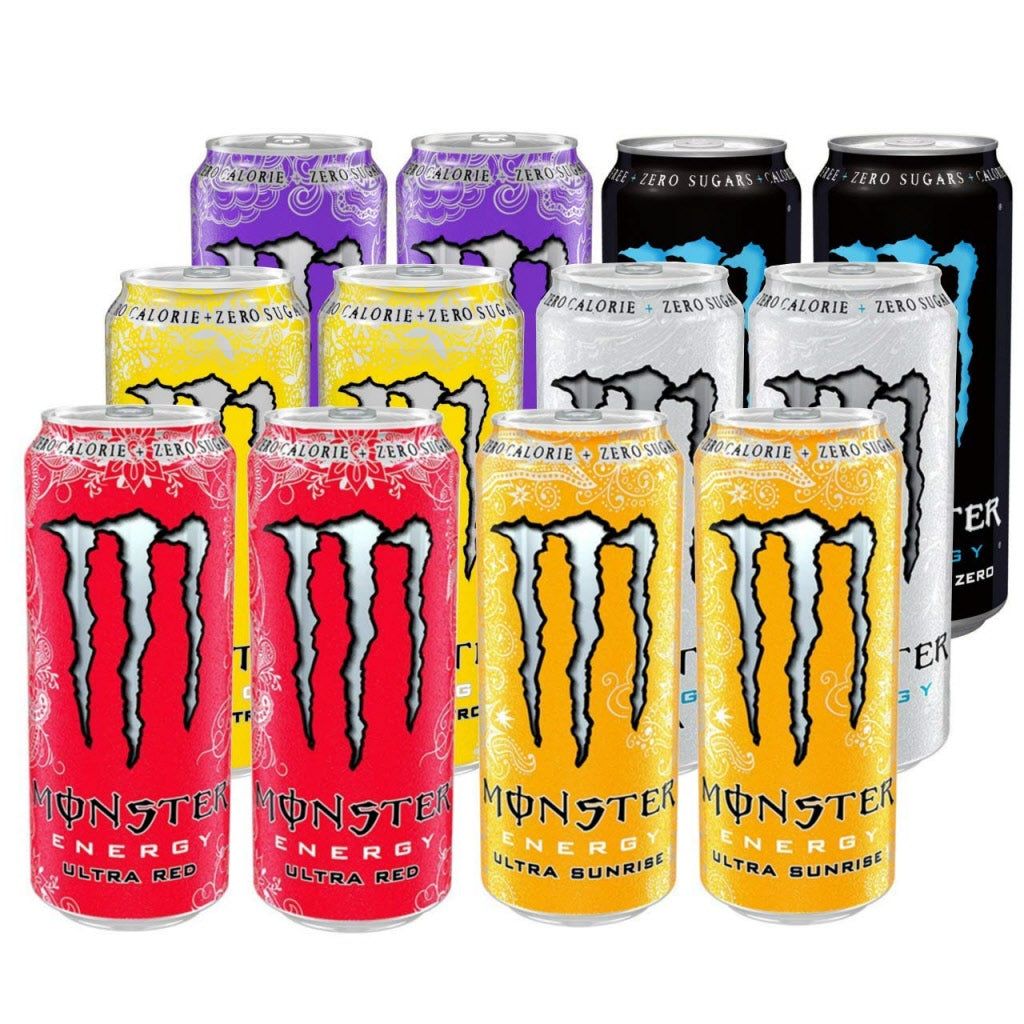 MONSTER ENERGY 12 MIX