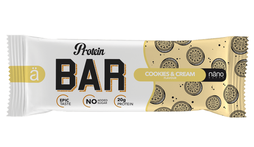 Nano Protein Bar Cookies & Cream