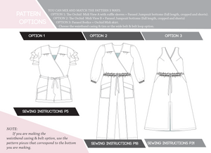 INSTRUCTIONS of ORCHID X PARASOL COLLAB