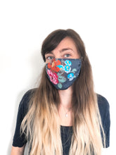 Load image into Gallery viewer, 3 layer Cloth Mask with filter pocket [SEWN GOODS]