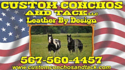 Custom Conchos And Tack leather by design
