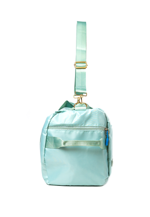 Blair Sports Duffle Bag in Cyan