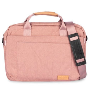 "The Cyrus Laptop Bag 14"" in Pink"