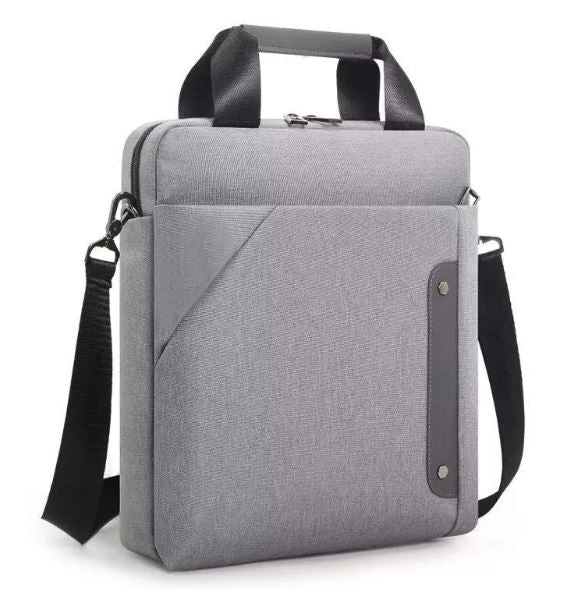 "The Louis Laptop Bag 14"" in Gray"