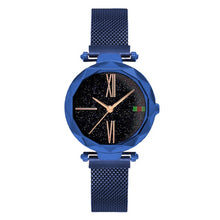 Load image into Gallery viewer, Luxury Rose Gold Women Watches Minimalism Starry sky Magnet Buckle Fashion Casual Female Wristwatch Waterproof Roman Numeral