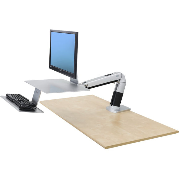 Apple compatible Ergotron 24-422-227 WorkFit-A Workstation - TechExpress