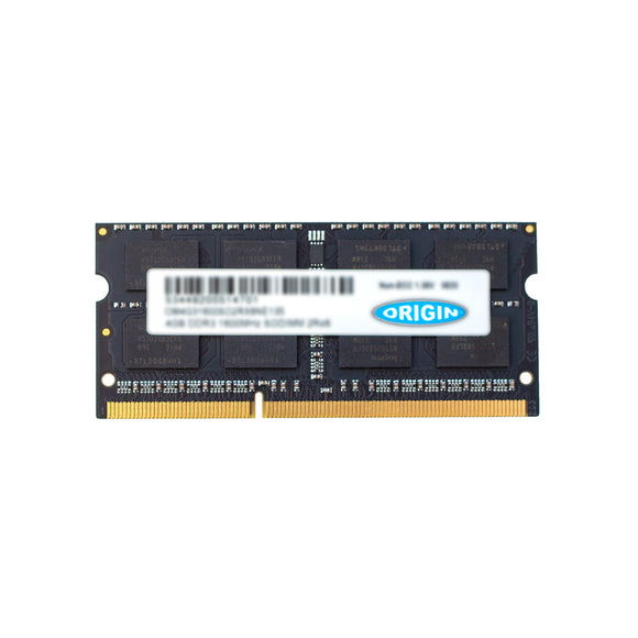 Origin Storage OM8G31600SO2RX8NE135 memory module 8 GB 1 x 8 GB DDR3 1600 MHz