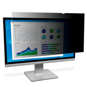 "3M™ Privacy Filter for 24"" Widescreen Monitor (16:10) (PF240W1B) - TechExpress"
