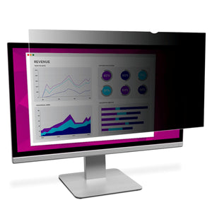 "3M™ High Clarity Privacy Filter for 22"" Widescreen Monitor (16:10) (HC220W1B) - TechExpress"