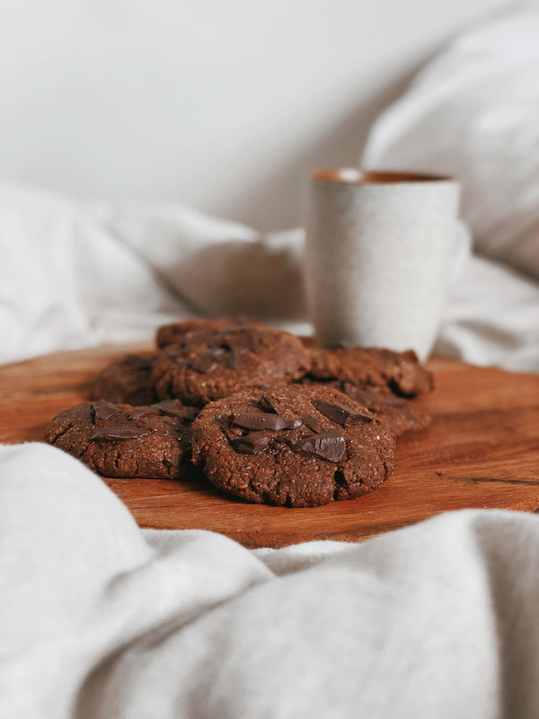 Sacred Double Choc Cookies