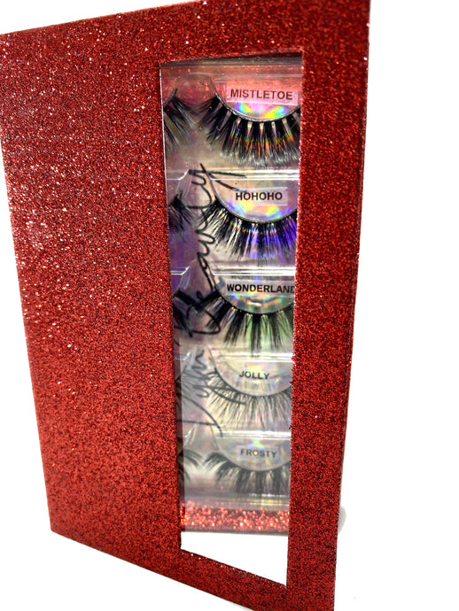 HOLIDAY FIVE LASH BOOK BUNDLE