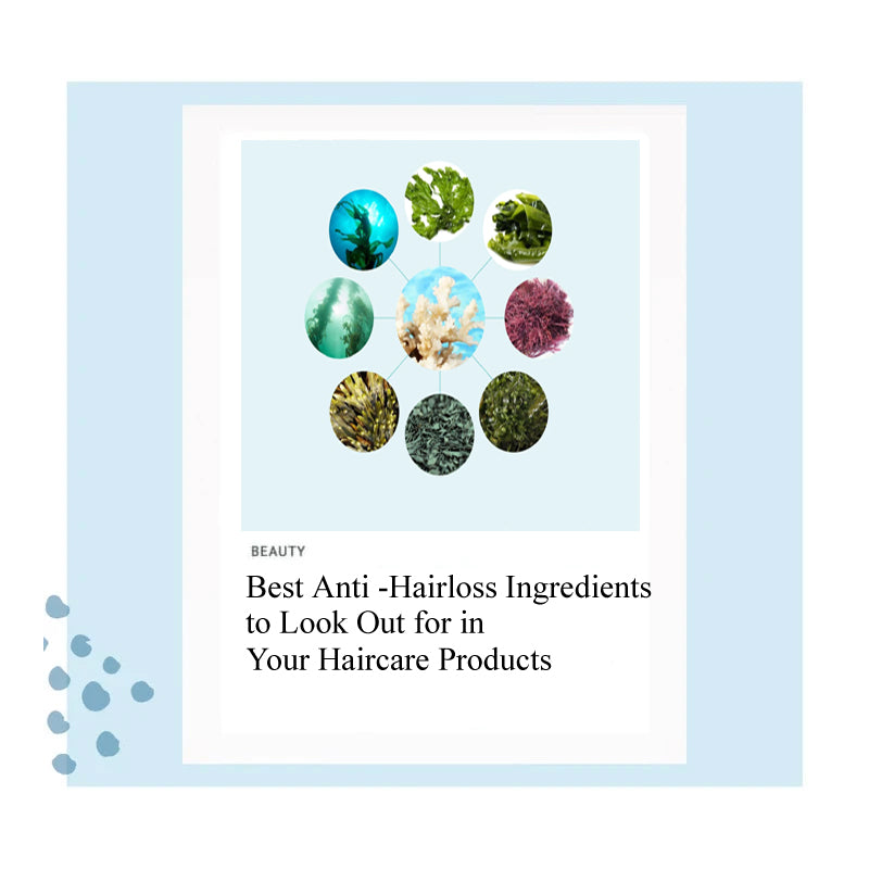 Best Anti -Hairloss Ingredients to Look Out for in Your Haircare Products hair loss, hair regrowth, hair fall, best hair loss products Singapore, best hair loss ingredients, shampoo, treatment, essence, coral calcium SMIB 1