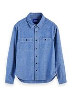 Load image into Gallery viewer, Scotch and Soda Ams Blauw Chambray Shirt - Indigo