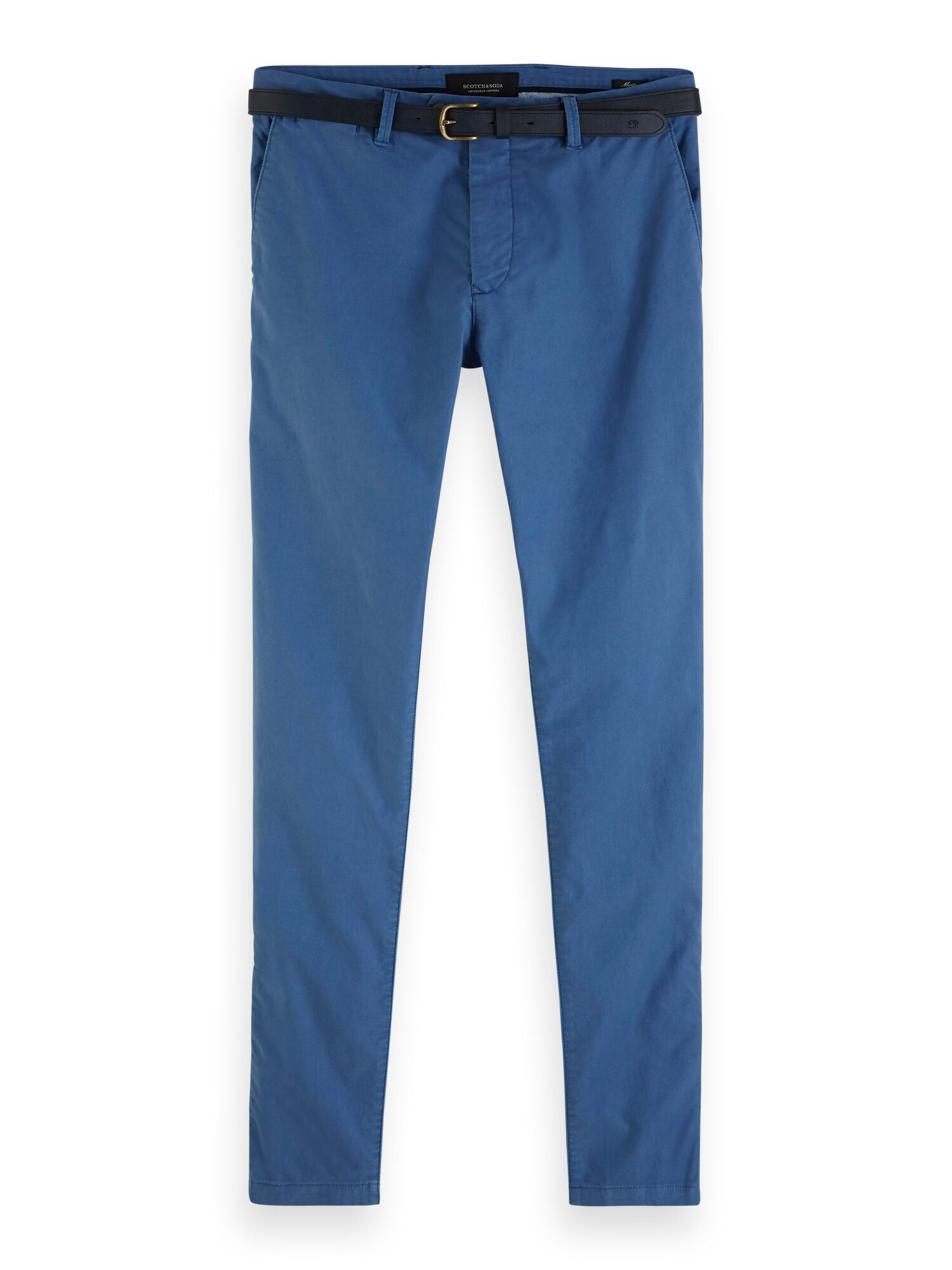 Scotch and Soda Mott Chino - Worker Blue - Mitchell McCabe Menswear