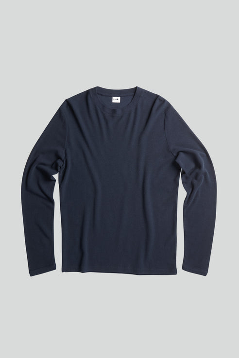 No Nationality Clive Tee - Navy Blue - Mitchell McCabe Menswear