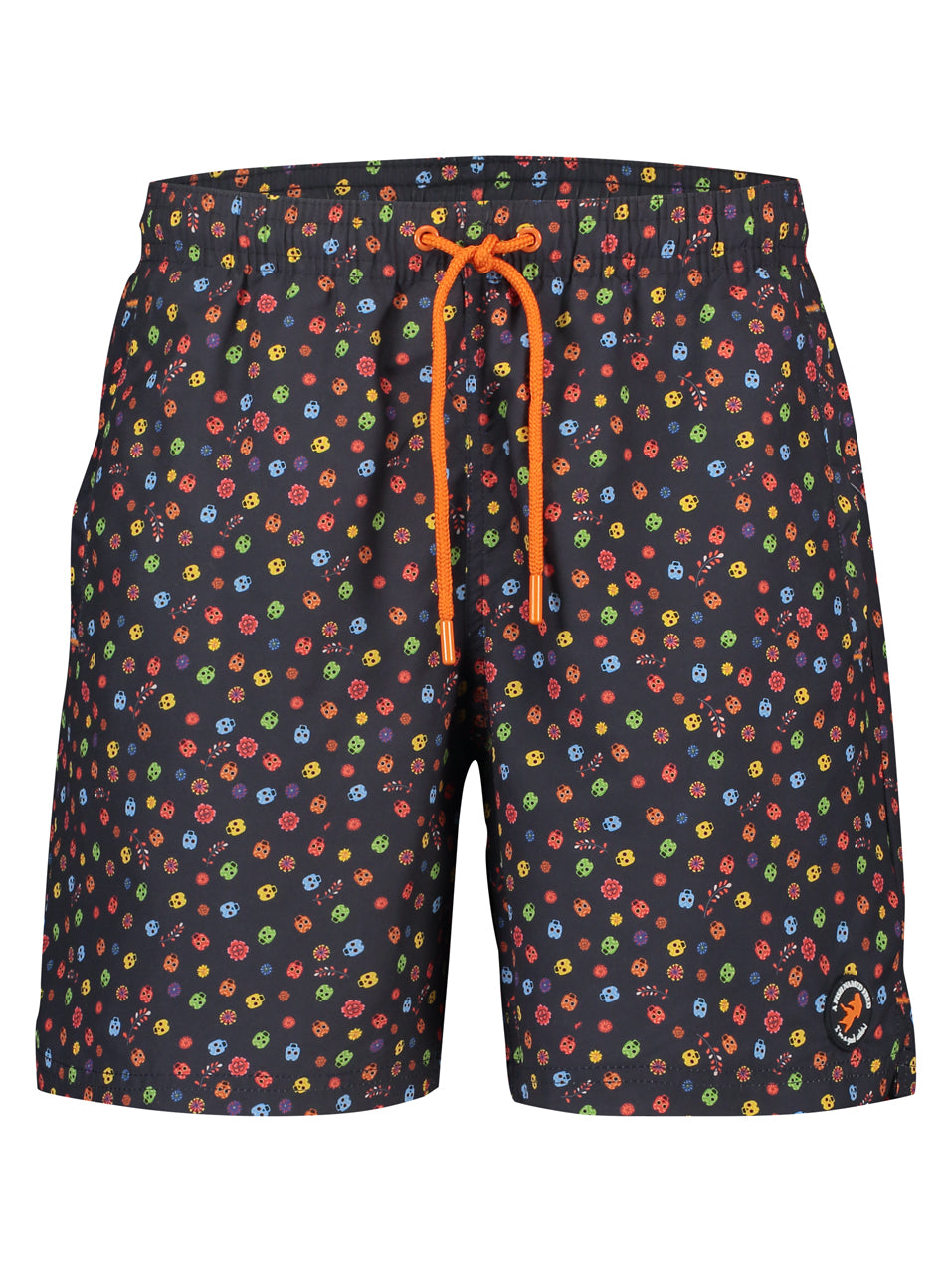 A Fish Named Fred Swimshorts - Skull Print - MitchellMcCabe