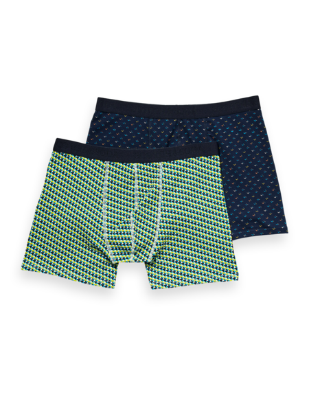 Scotch and Soda Classic Boxer in Prints - 218 Combo B