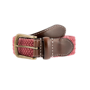 Dents Elasticated Casual Belt - Flamingo