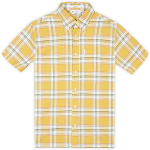 Ben Sherman Short Sleeve Archive Melody Shirt - Dijon