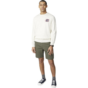 Ben Sherman B By Ben Cornelli Logo Sweat - Ecru