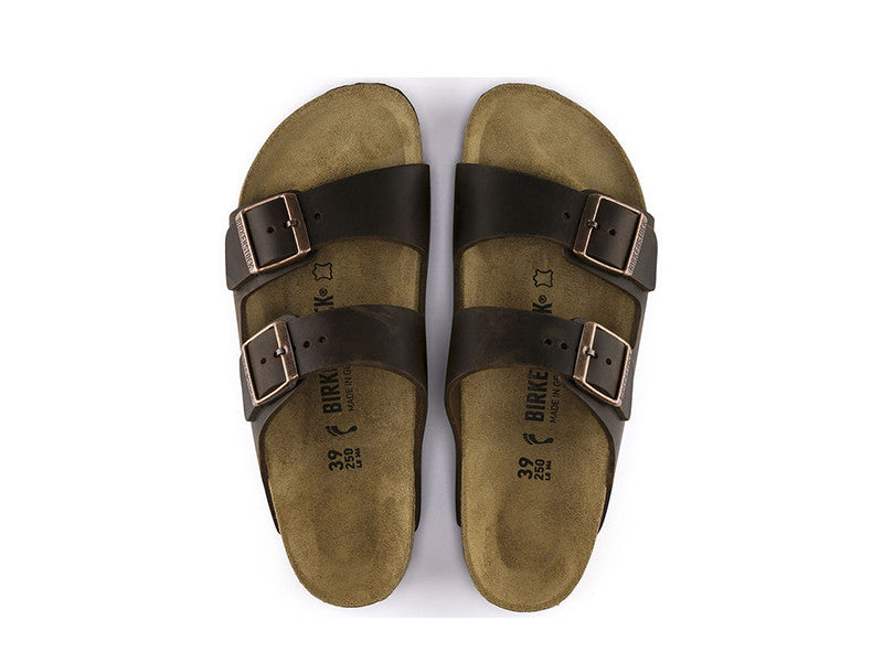 Birkenstock Arizona Oiled Leather - Habana - MitchellMcCabe
