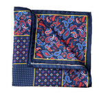 Load image into Gallery viewer, Italian Silk Pocket Squares - Blues - MitchellMcCabe
