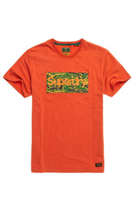 Superdry CL Canvas Tee - Rust