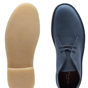 Clarks Originals Desert Boot - Deep Blue Suede - MitchellMcCabe