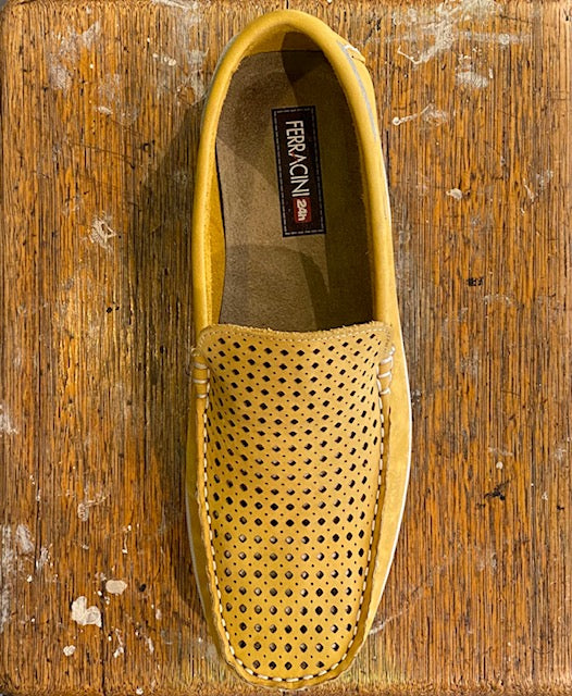 Ferracini Zeke Essential Slip On - Amarelo