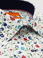 Load image into Gallery viewer, Ganton Slim Fit Print Poplin - Floral - MitchellMcCabe
