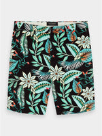 Load image into Gallery viewer, Scotch and Soda Mid Length Printed Chino Short - Combo 219