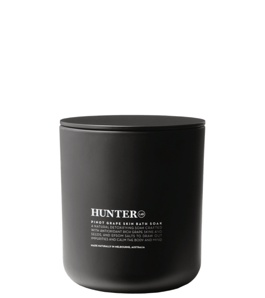 Hunter Pinot Grape Skin Bath Soak - MitchellMcCabe